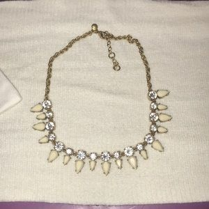 Beautiful JCrew Necklace Gold and Ivory
